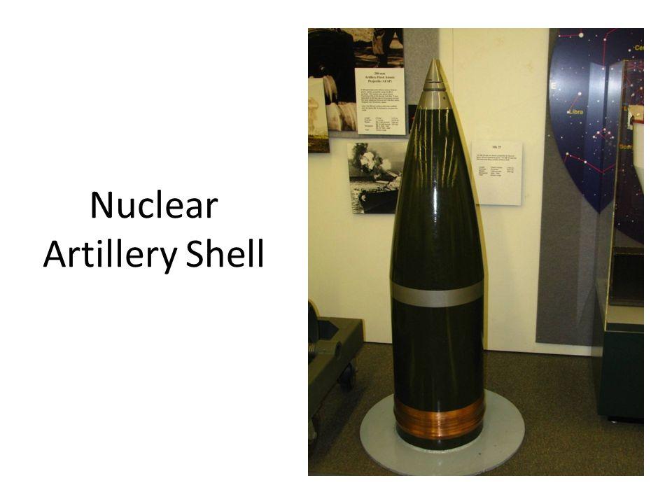 Nuclear Artillery Shell