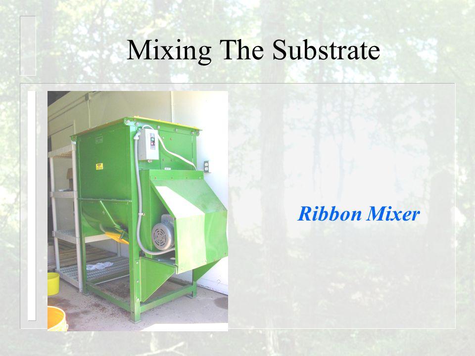 Mixing The Substrate Ribbon Mixer