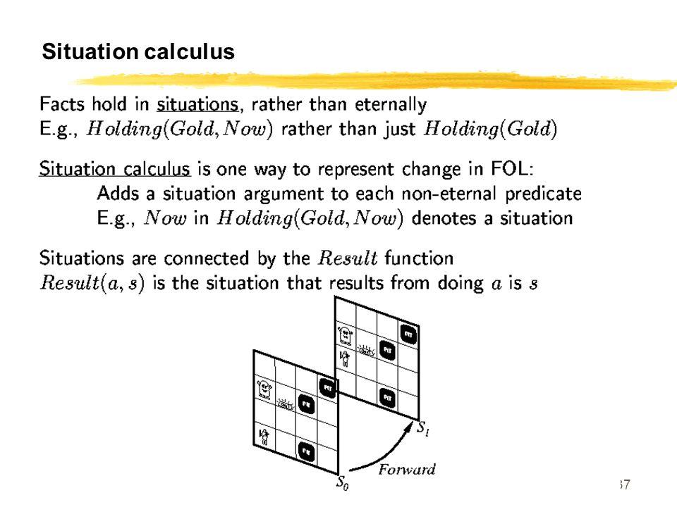 SE 420 37 Situation calculus