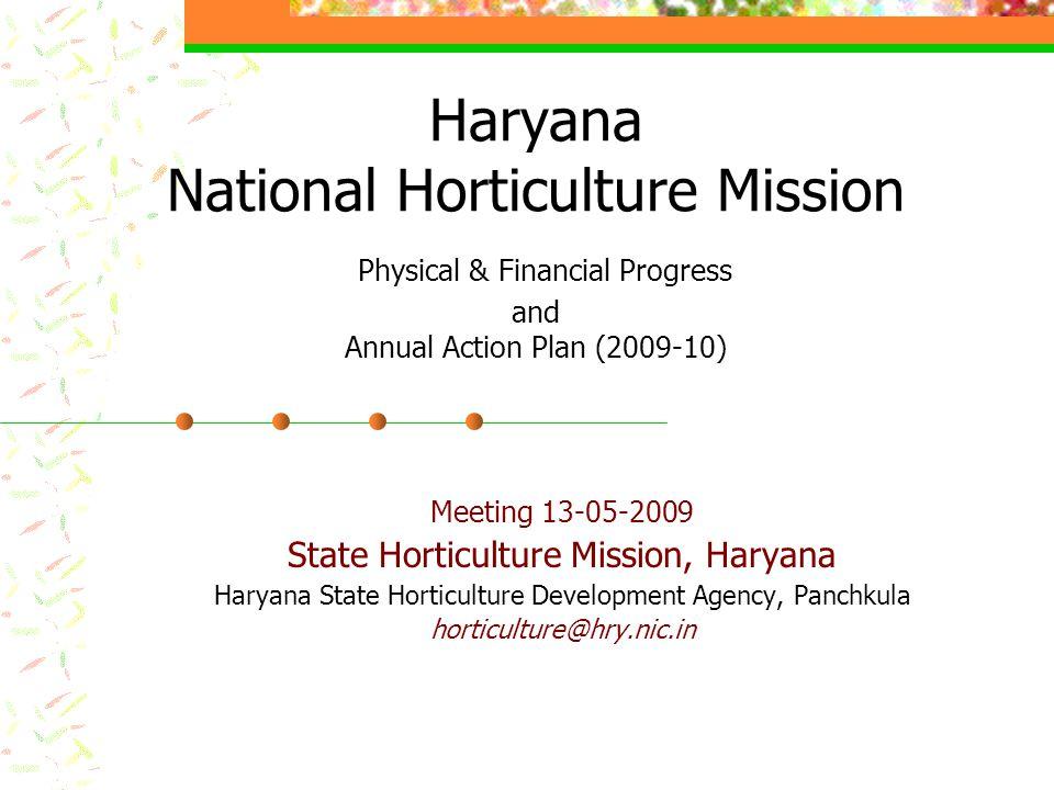 Post Harvest Management YearInterventionPhysical Achievement (nos.) Financial Achievemetn (Rs.