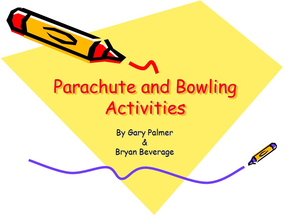 Cooperative Skills for the Parachute WV CSO's PE.3.1.1throw an object in an underhand and overhand method.