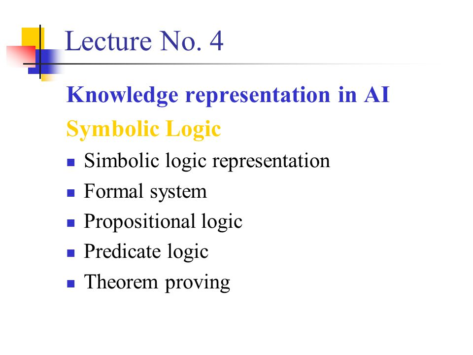 Lecture No.