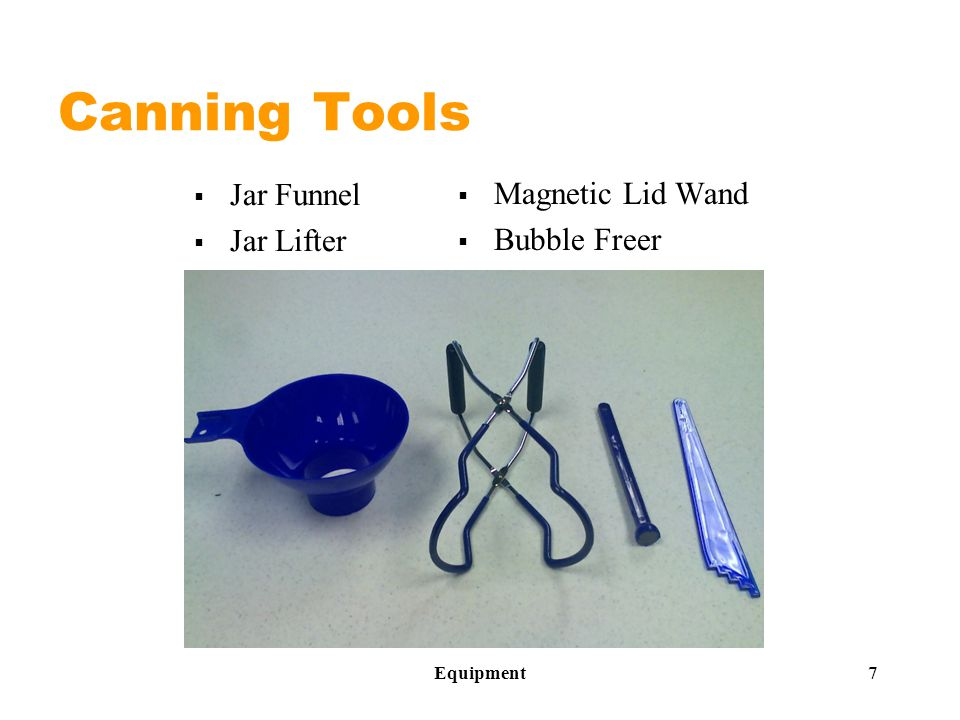 Canning Tools  Jar Funnel  Jar Lifter  Magnetic Lid Wand  Bubble Freer Equipment 7