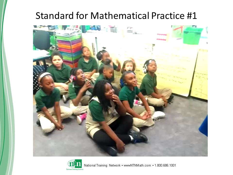 Standard for Mathematical Practice #1