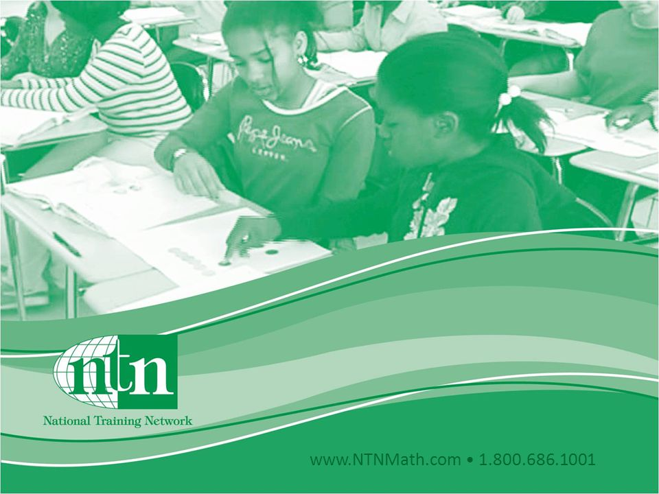 www.NTNMath.com 1.800.686.1001