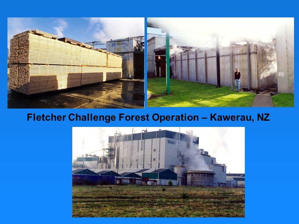 Fletcher Challenge Forest Operation – Kawerau, NZ