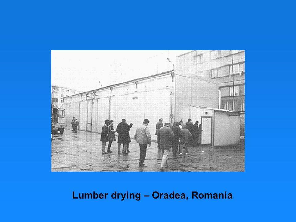Lumber drying – Oradea, Romania