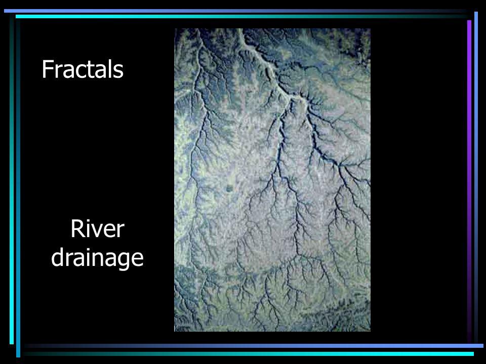 Fractals River drainage