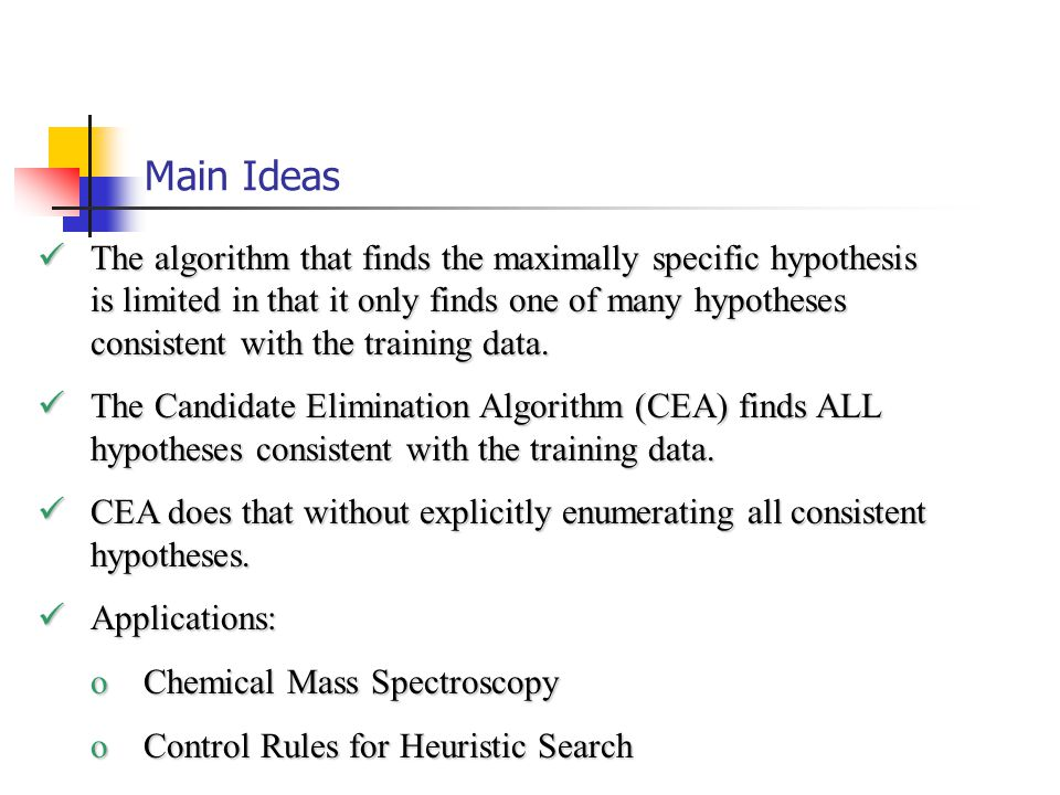 Inductive Bias Inductive bias is the preference for a hypothesis space H and a search mechanism over H.