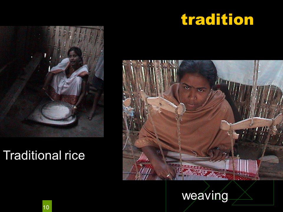 10 tradition weaving Traditional rice