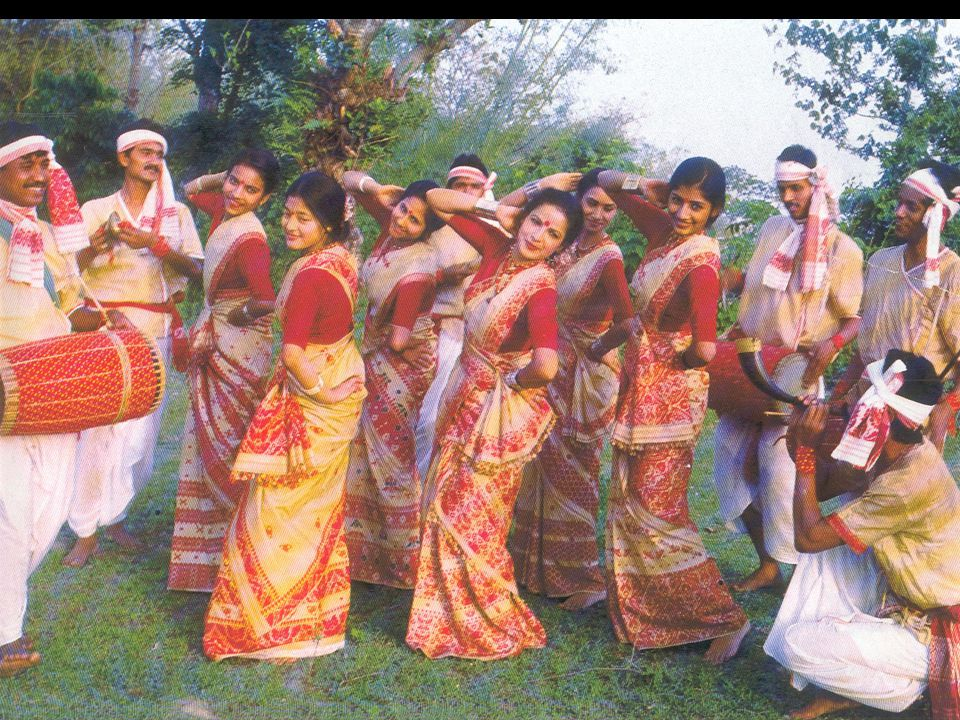 31  Attired in muga (bihu)