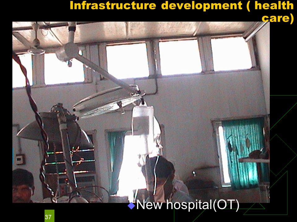 37 Infrastructure development ( health care)  New hospital(OT)