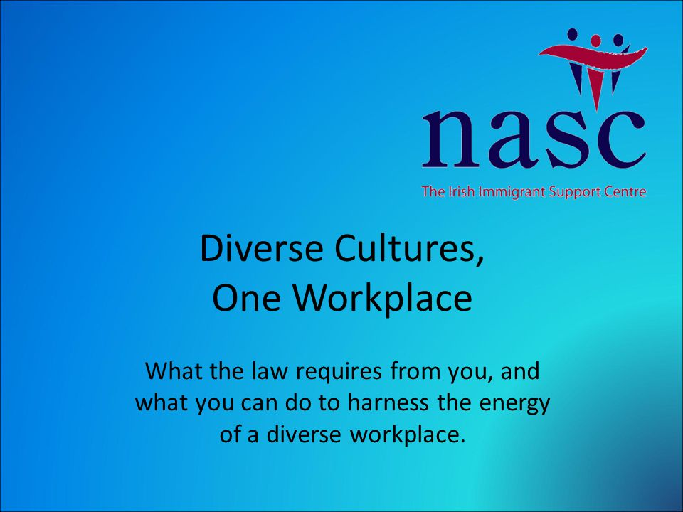 Cultivate a productive atmosphere and improve employee satisfaction by making positive provision for cultural difference.