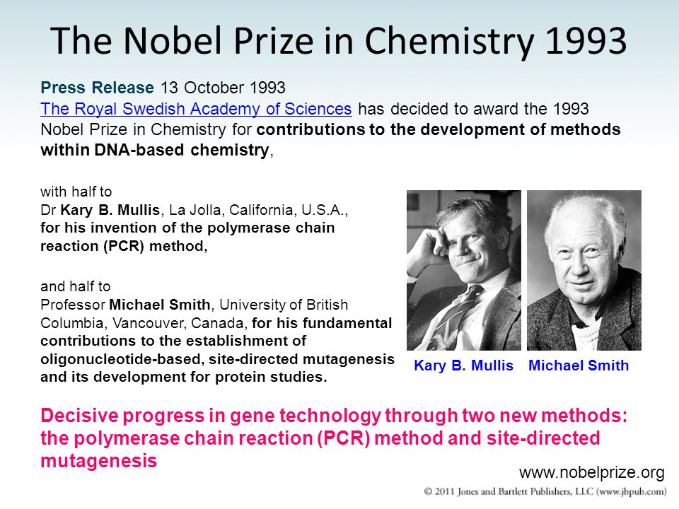 Press Release 13 October 1993 The Royal Swedish Academy of SciencesThe Royal Swedish Academy of Sciences has decided to award the 1993 Nobel Prize in