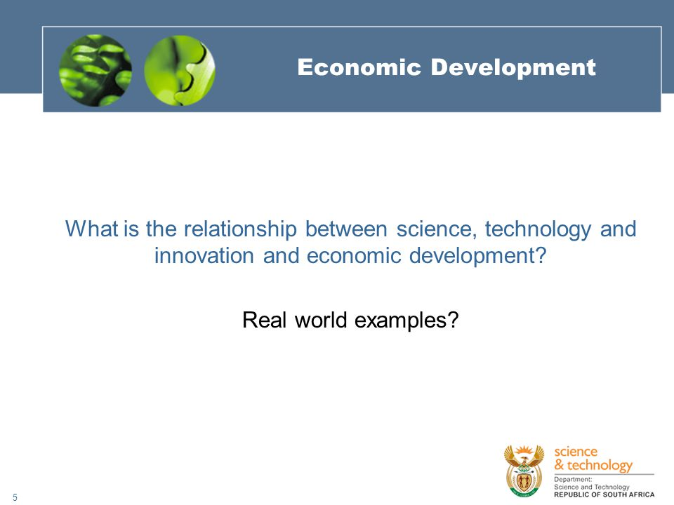 26 How are the South African innovation actors contributing to poverty alleviation and employment creation through science, technology and innovation.