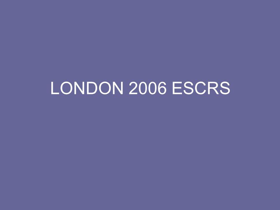 ESCRS 2006 LONDON