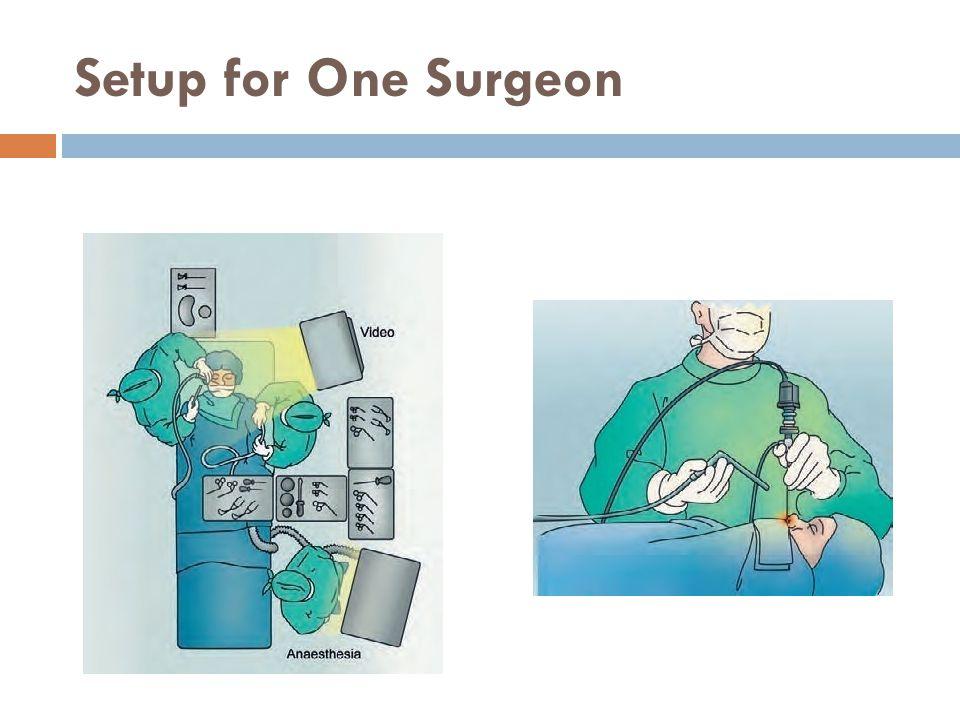 Setup for One Surgeon