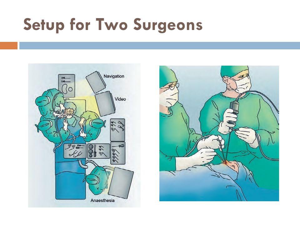 Setup for Two Surgeons