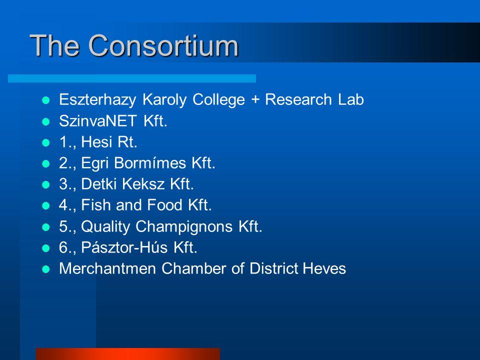 The Consortium Eszterhazy Karoly College + Research Lab SzinvaNET Kft.
