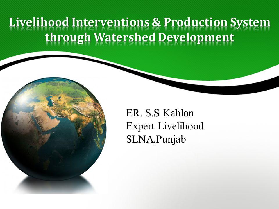 ER. S.S Kahlon Expert Livelihood SLNA,Punjab