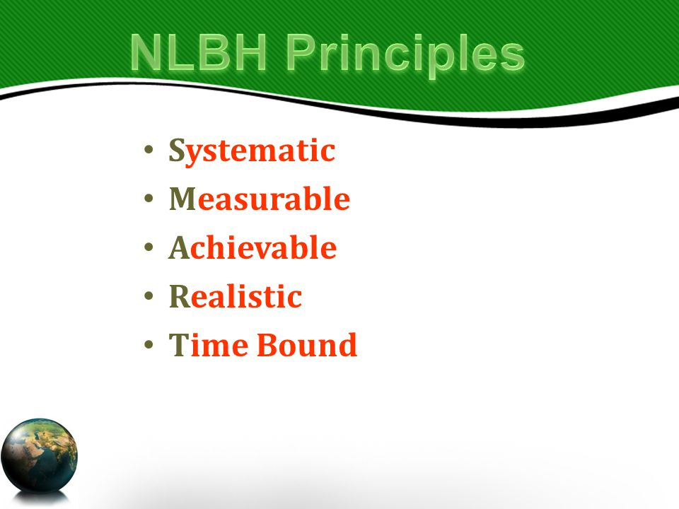 Systematic Measurable Achievable Realistic Time Bound