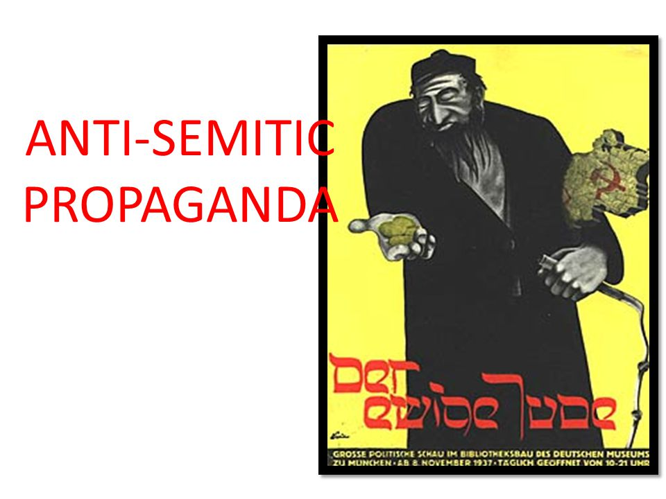 ANTI-SEMITIC PROPAGANDA