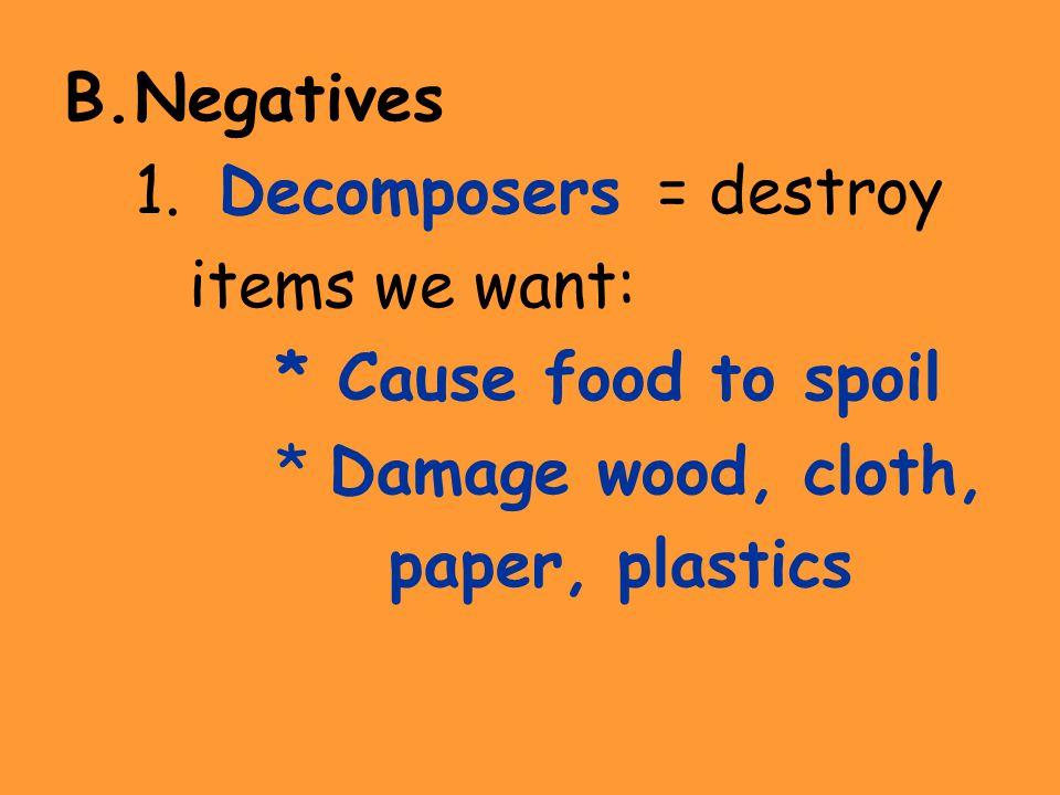 B.Negatives 1.