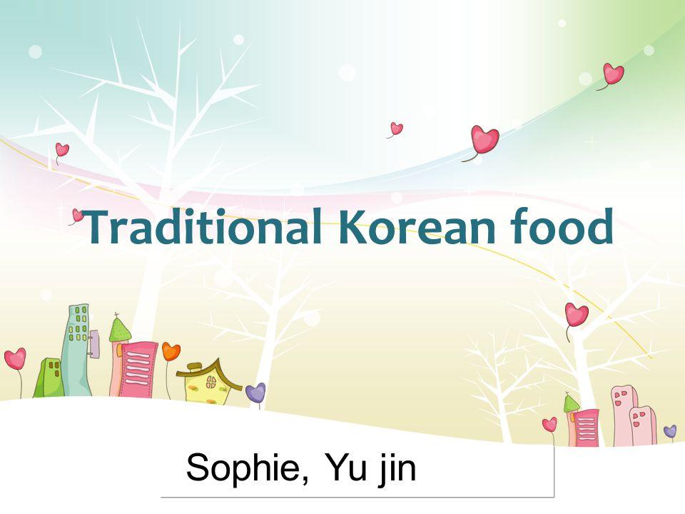 L/O/G/O Traditional Korean food Sophie, Yu jin
