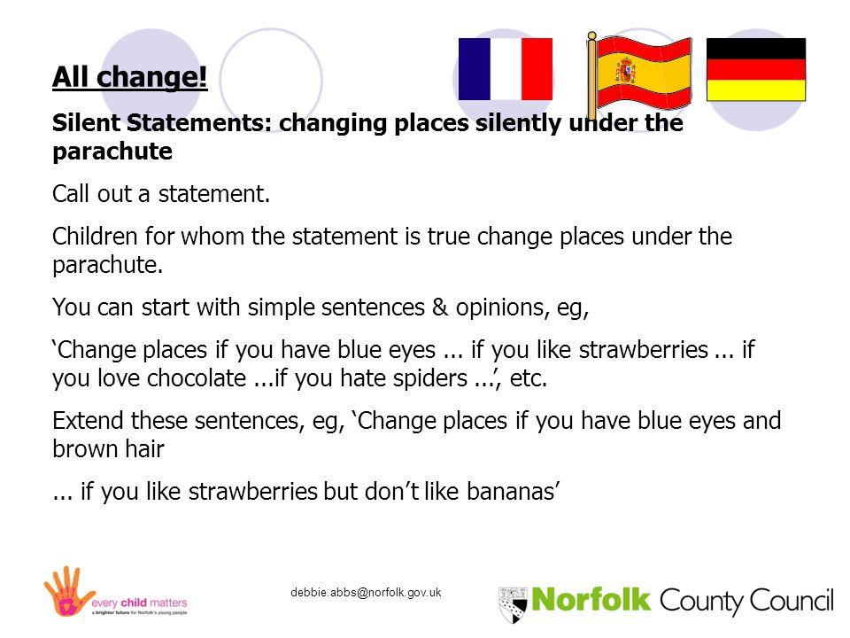 debbie.abbs@norfolk.gov.uk All change.