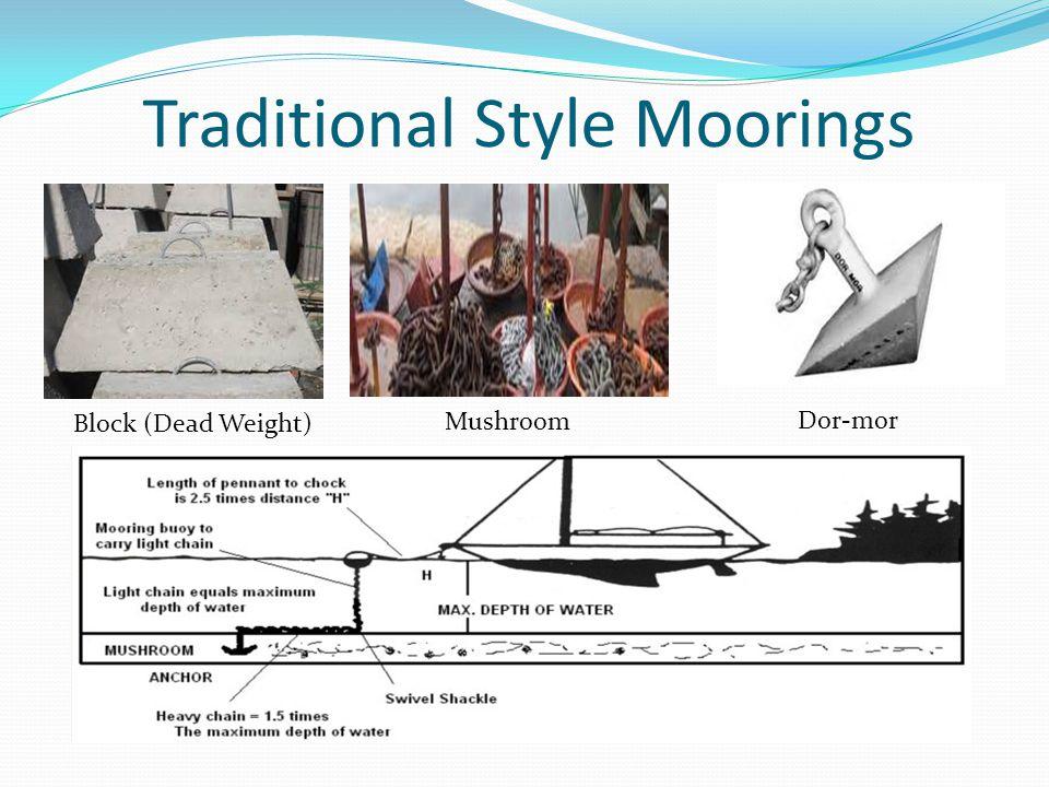 Traditional Style Moorings Block (Dead Weight) Mushroom Dor-mor