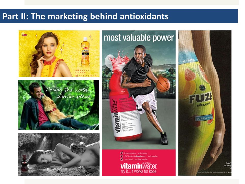 Part II: The marketing behind antioxidants