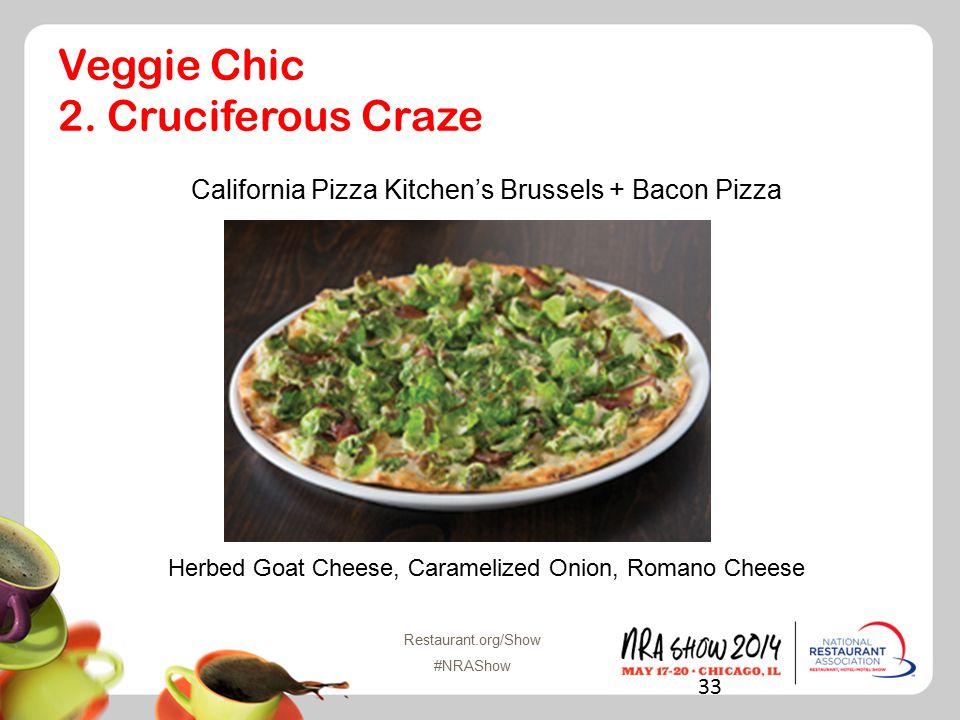 Restaurant.org/Show #NRAShow Veggie Chic 2.