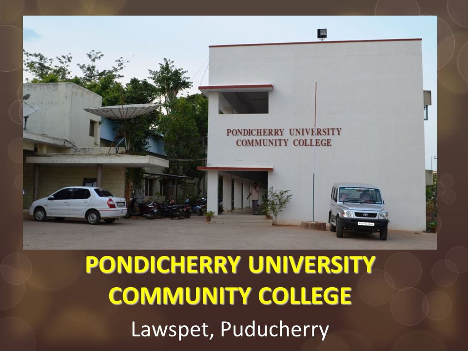 Curriculum development:  BoS constituted by Pondicherry University with industry partners, academicians, SKP trainers.