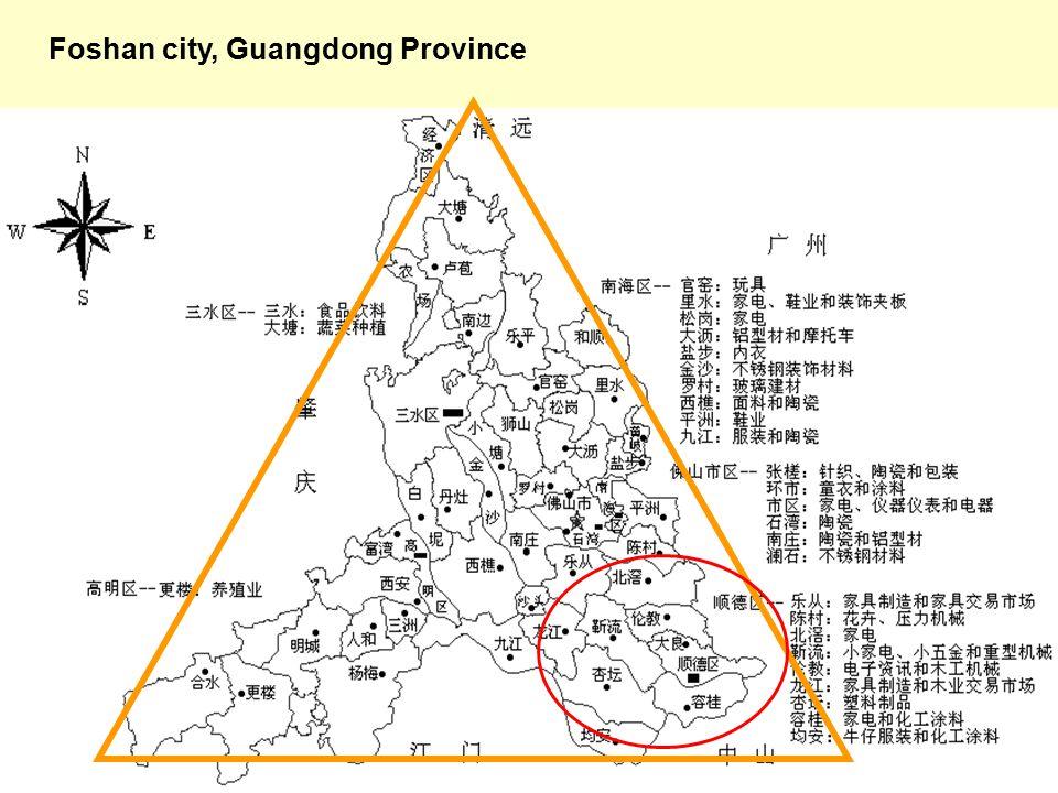 24 Foshan city, Guangdong Province
