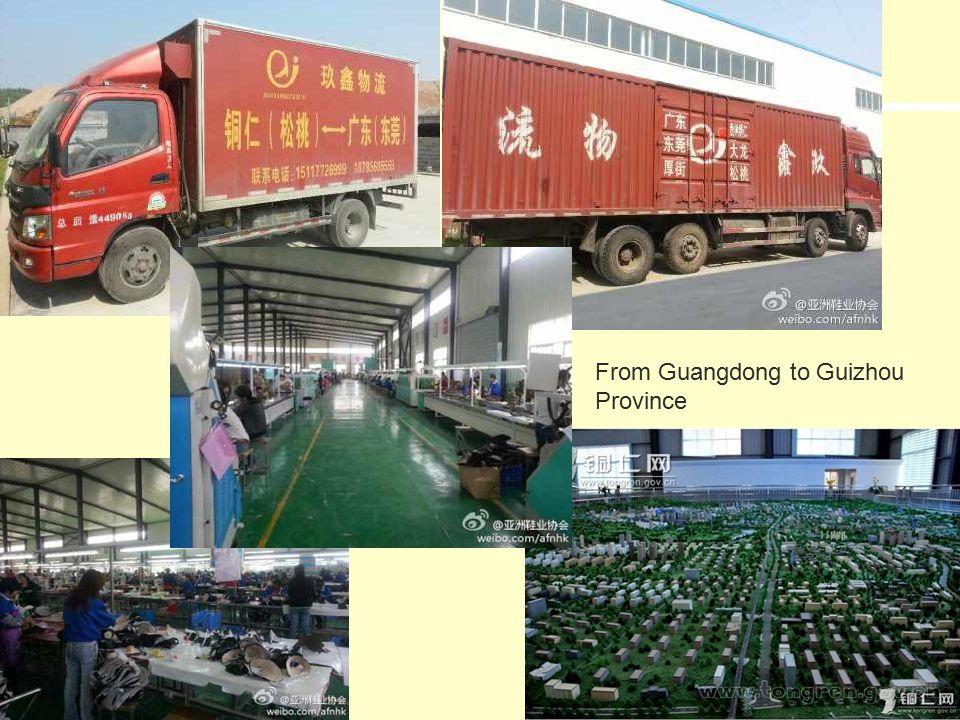 34 From Guangdong to Guizhou Province