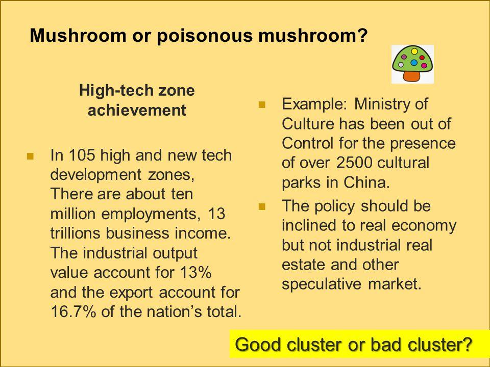 Mushroom or poisonous mushroom.