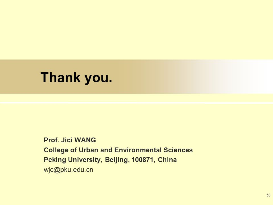 58 Thank you. Prof.