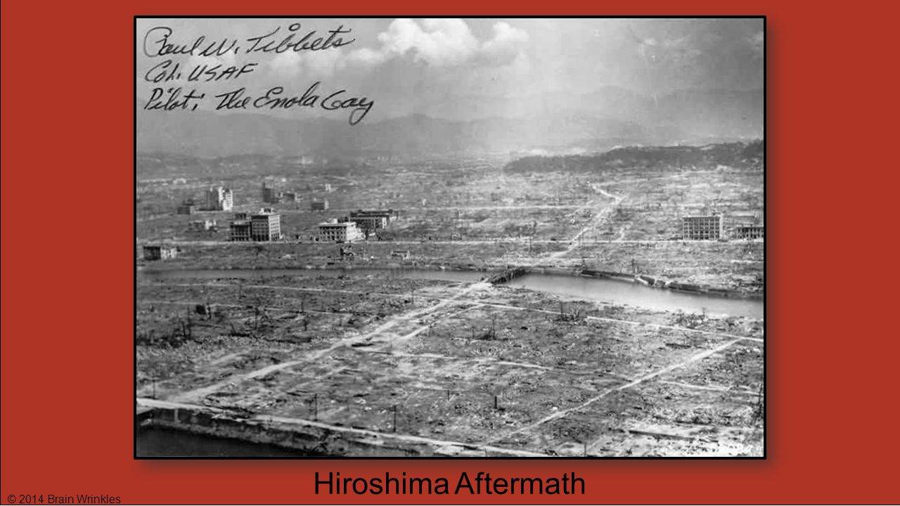 © 2014 Brain Wrinkles Hiroshima Aftermath