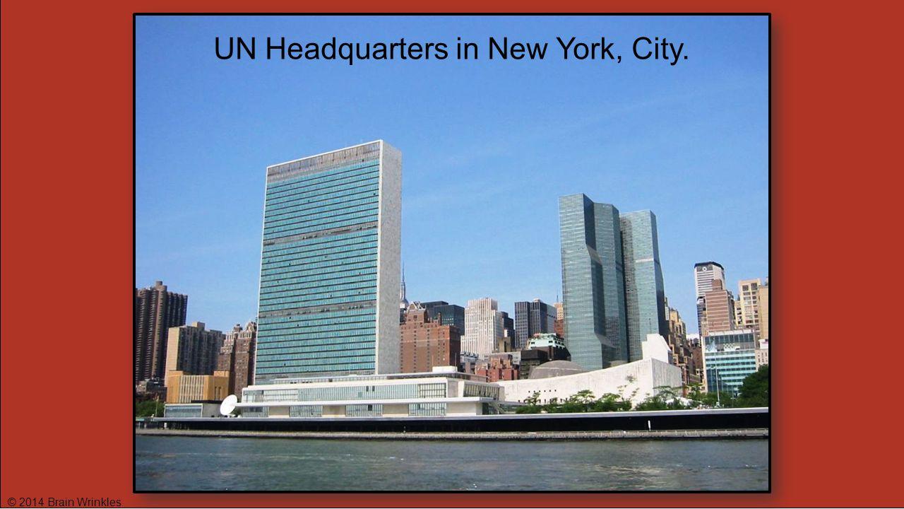 UN Headquarters in New York, City.