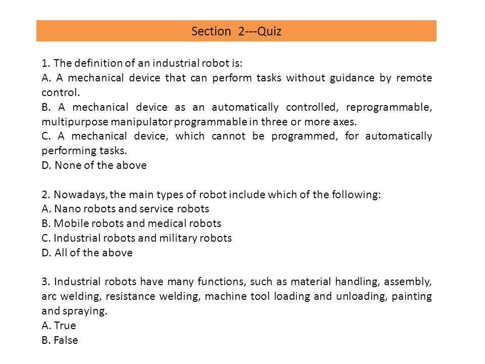 Section 4---Quiz 1.