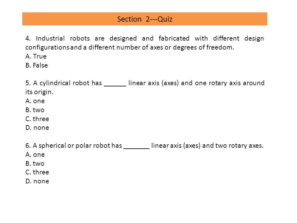 Section 4---Quiz 4.