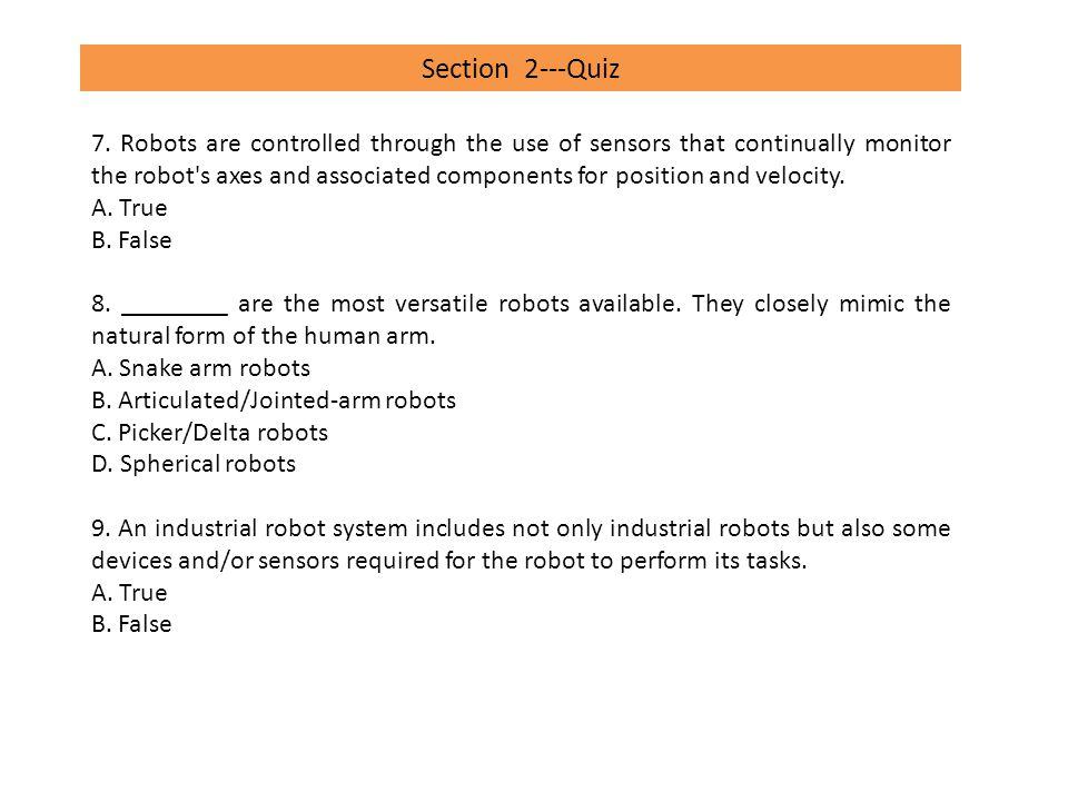 Section 2---Quiz 10.