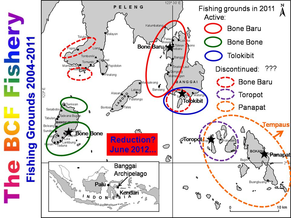Fishing Grounds 2004-2011 Reduction June 2012...