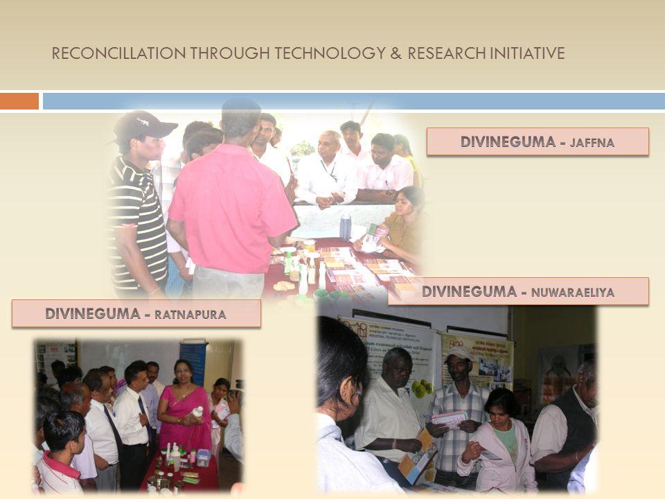 RECONCILLATION THROUGH TECHNOLOGY & RESEARCH INITIATIVE MULLAITHIVU JAFFNA