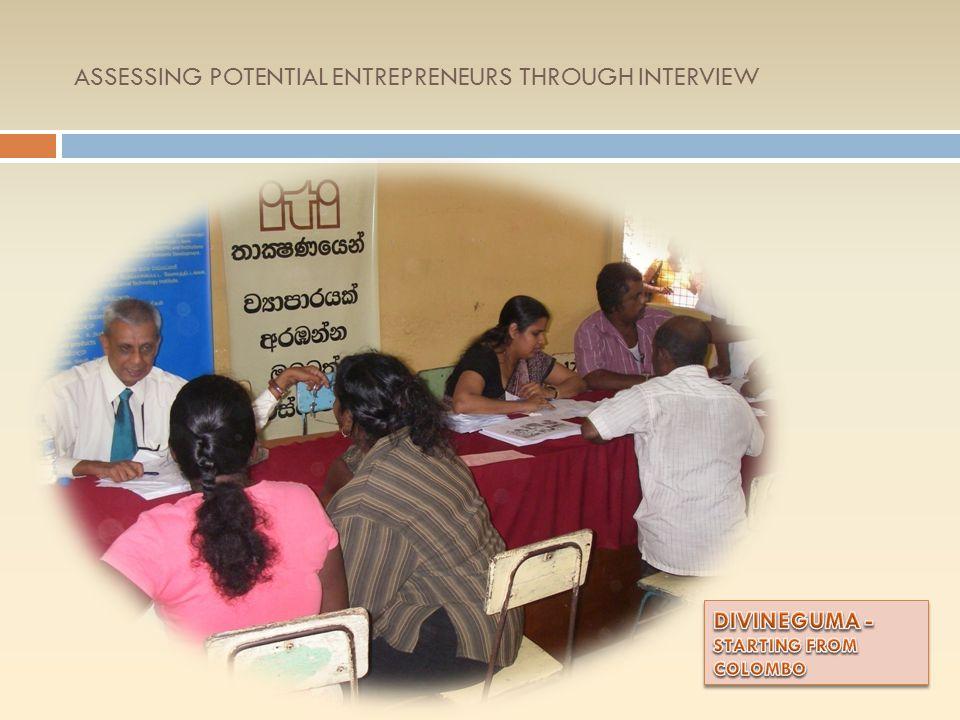 DIVINEGUMA SENSITIZATION YearDistrictParticipants 2011Colombo32 Gampaha 57 Anuradhapura35 Jaffna59 Kegalle26 2012Moneragala23 Puttlam14 Mannar100 Hamb