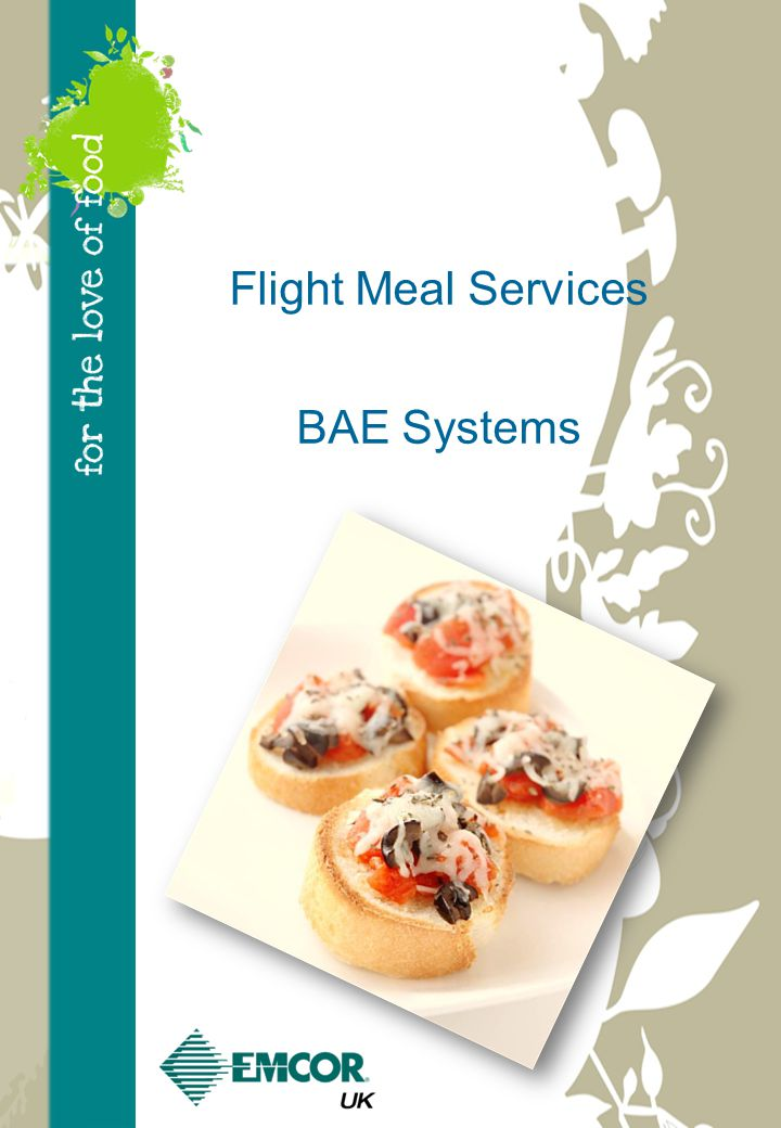 Flight Meal Services BAE Systems
