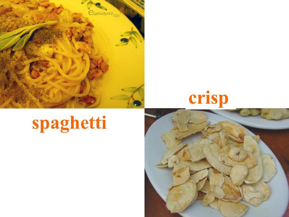 spaghetti crisp
