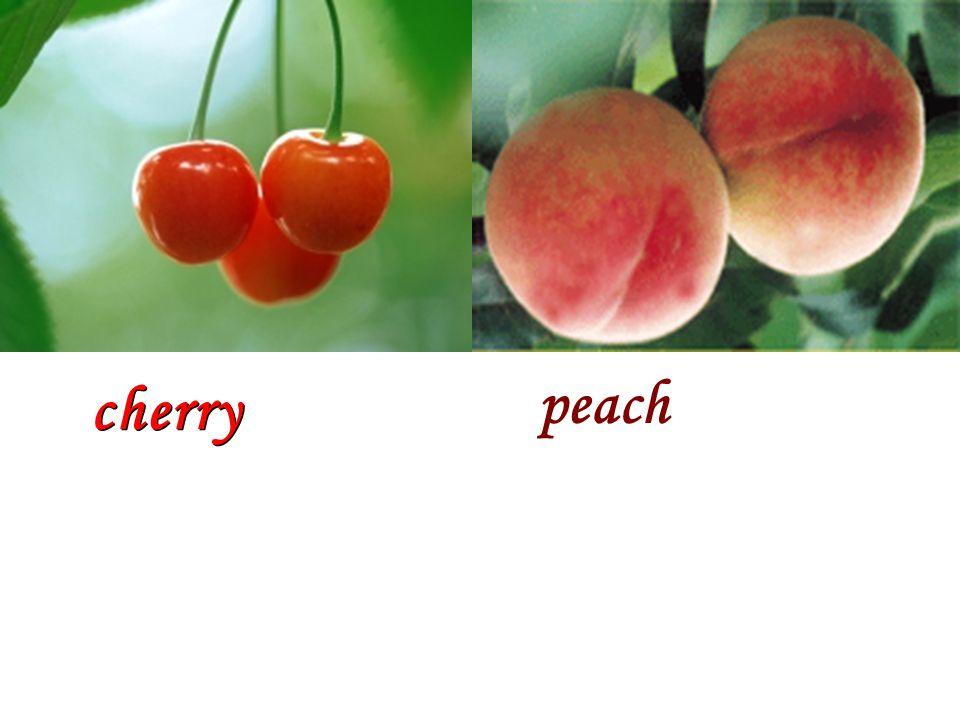 cherry peach