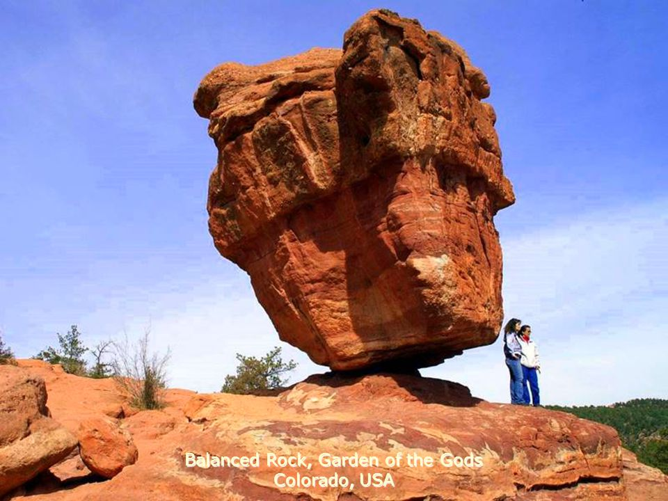 Balanced Rock, Garden of the Gods Colorado, USA