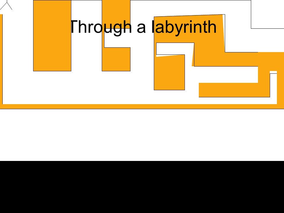 Through a labyrinth
